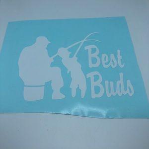 Best Buds vinyl decal